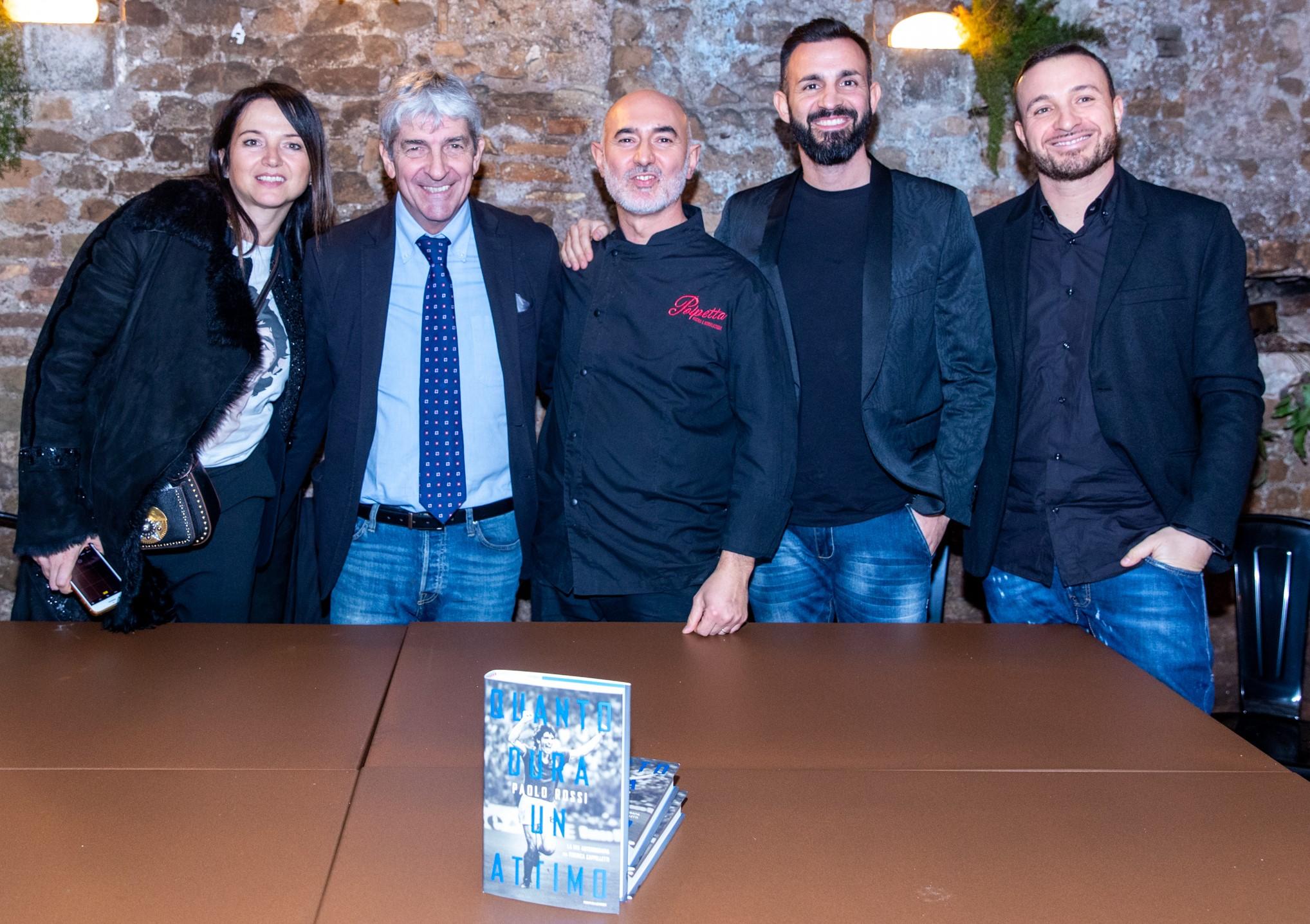 "Folla di vip per l'apertura di ""Polpetta"" a Trastevere: 'guest star' Paolo Rossi"