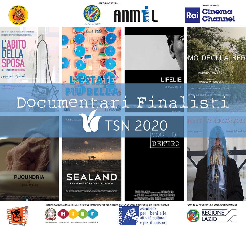 Documentari finalisti Tulipani di Seta Nera