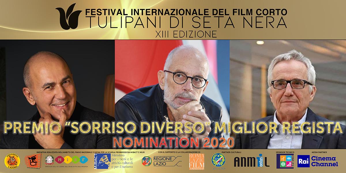 """XIII Tulipani di Seta Nera: le nomination del Premio """"Sorriso Diverso"""""""