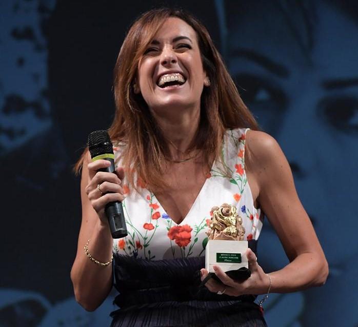 Francesca Della Ragione premiata come 'Miglior attrice emergente' al Terra di Siena International Film Festival 2020