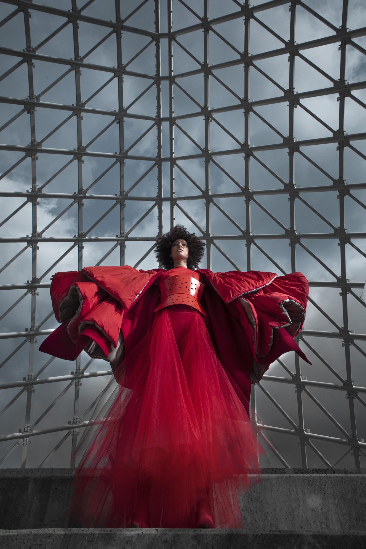 Antonio Martino presenta la collezione haute couture autunno-inverno 2021/22 a Milano Moda Donna