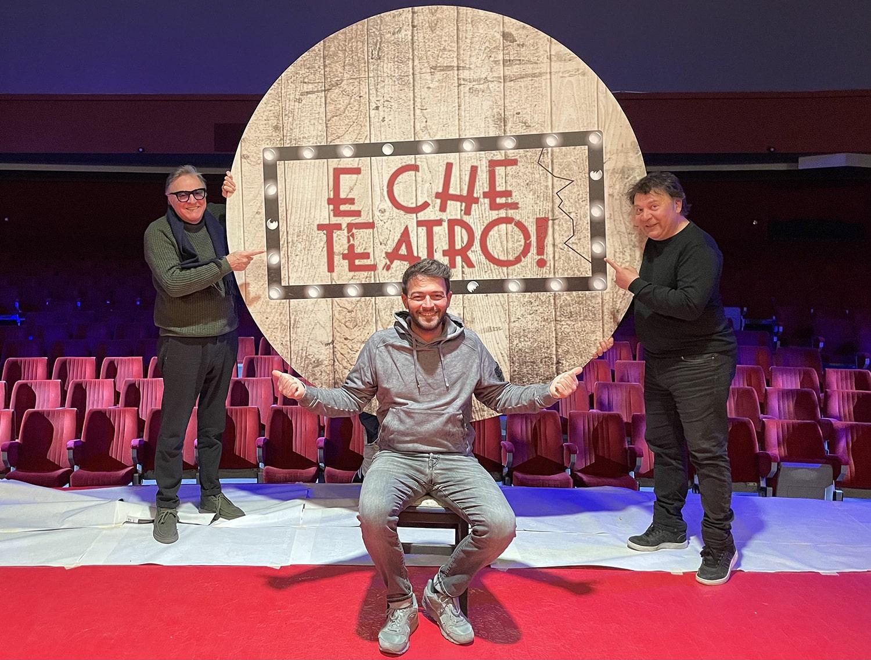 """Il Teatro Lendi set televisivo per il format """"E che teatro!"""""""